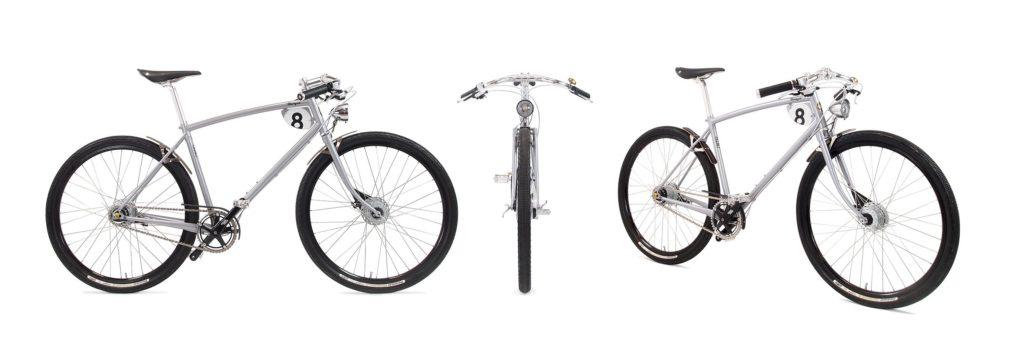Pashley Morgan 8 - Fahrrad aus Stahl mit Ledergriffen