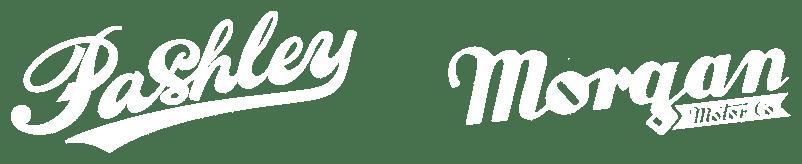 Pashley Morgan Logo in Weiß