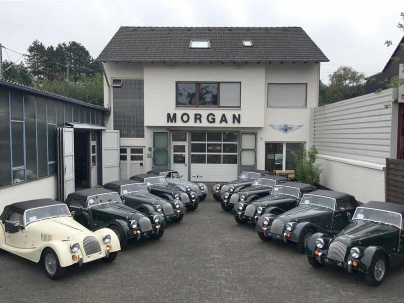 Morgan Flaving Filiale in Unna - Werkstatt für Autos